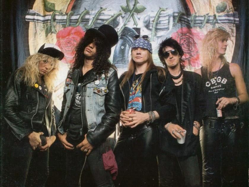 Lirik Dan Kunci Gitar Lagu Guns N Roses - Civil War