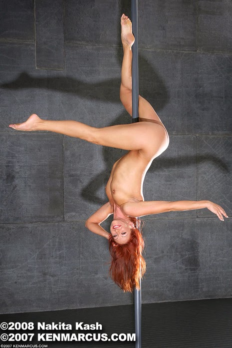 Pole dancing in the nude - Nakita Kash (America got talent show)