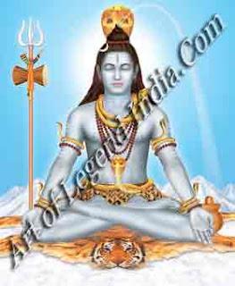 Shiva as Yogi