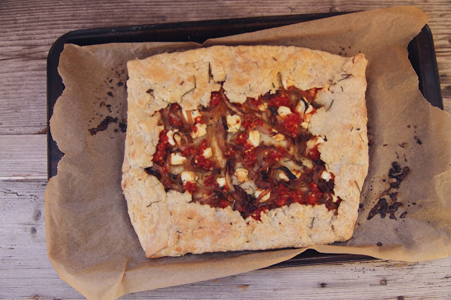 Gordy's Cherry Pepper Spread Galette