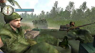 Using tank to kill enemies