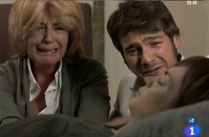 Fallecimiento del personaje de Lidia Navarro en la serie 'Herederos', de TVE