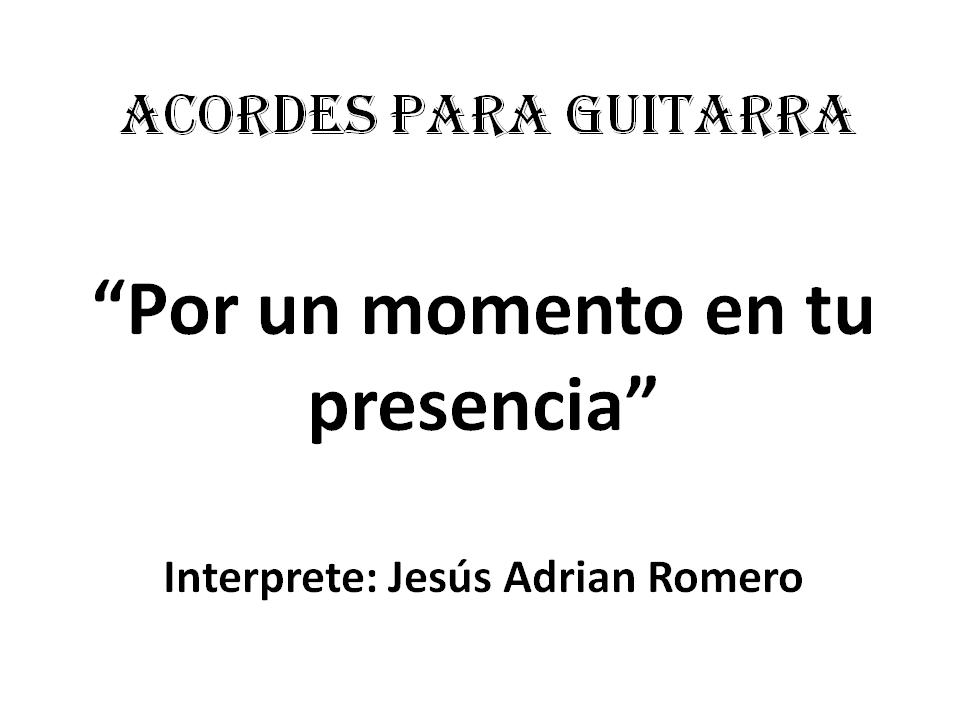 RECURSOS CRISTIANOS Un Destello De Tu Gloria Por Momento En Presencia