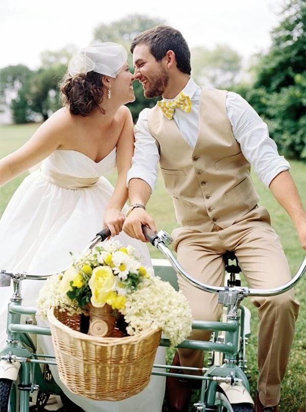 bicis en las bodas