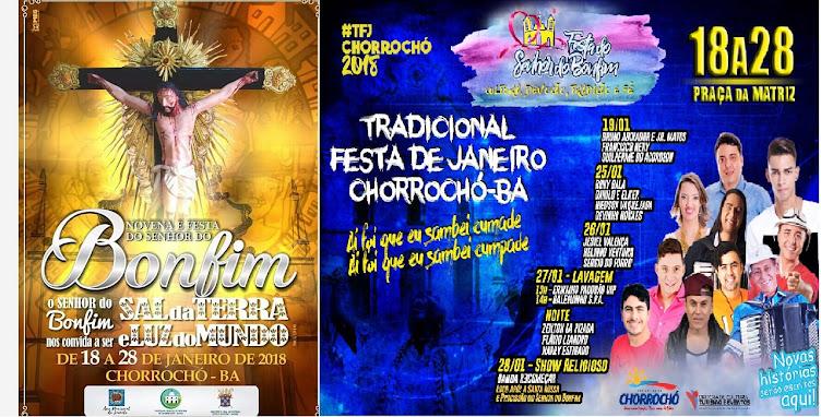 FESTA DO SENHOR DO BONFIM DE CHORROCHO