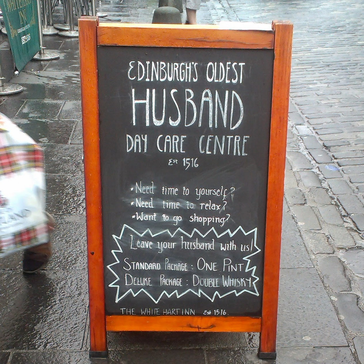Edinburgh Husband Creche