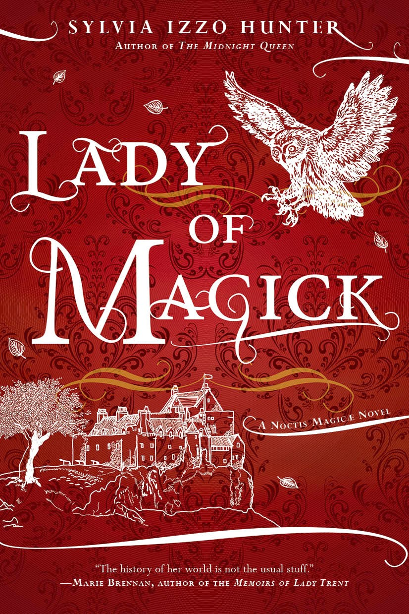 lady of magick by sylvia izzo hunter book cover