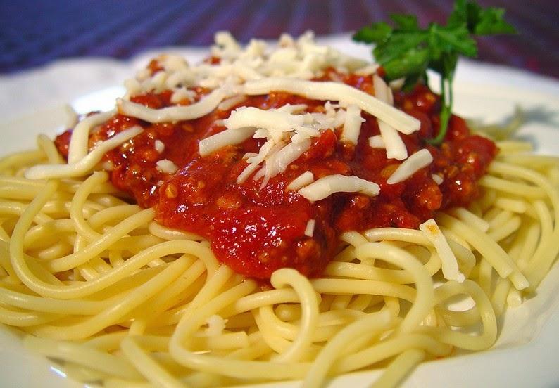 Resep Spaghetti Saus Tomat