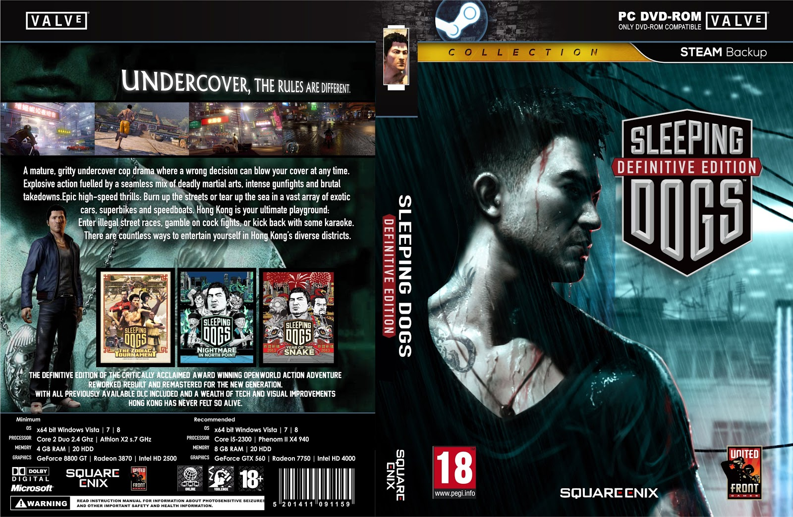 Capa Sleeping Dogs Definitive Edition PC