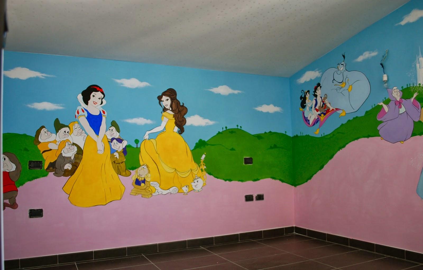 Cameretta Disney Principesse : Francesca decorazioni cameretta disney per emma