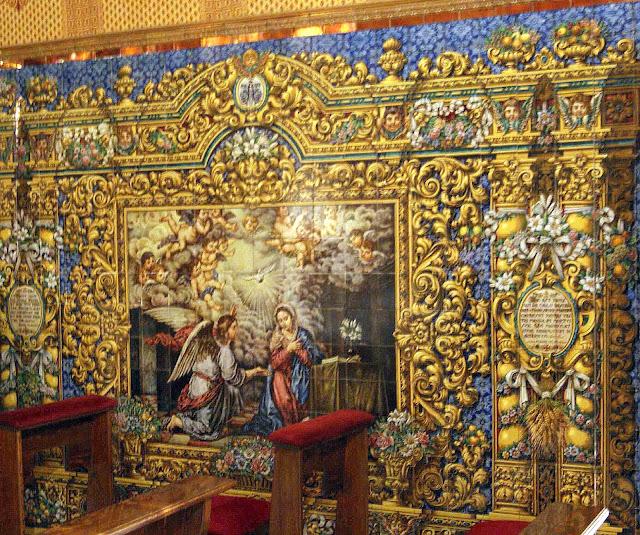 Leyendas de sevilla iglesia de san benito abad ii y final for Azulejos y pavimentos san juan