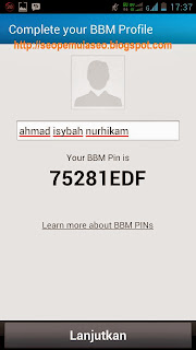 BBM Android, BlackBerry ID, BlackBerry Messsenger