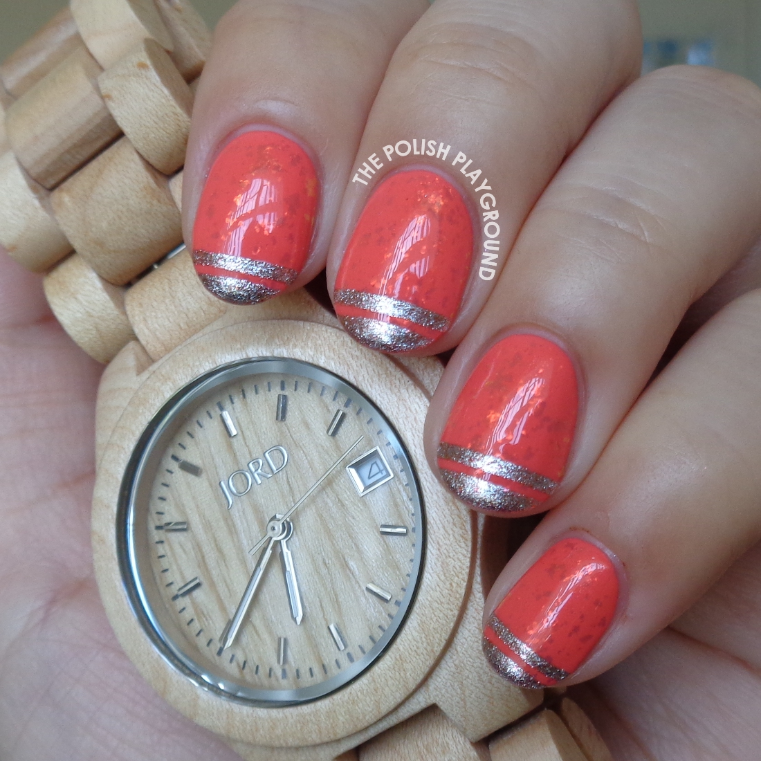 The Polish Playground: Jord Wood Watch Review and Nail Art