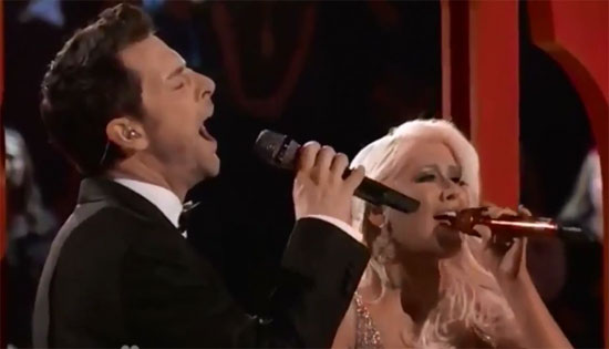 Christina Aguilera Chris Mann
