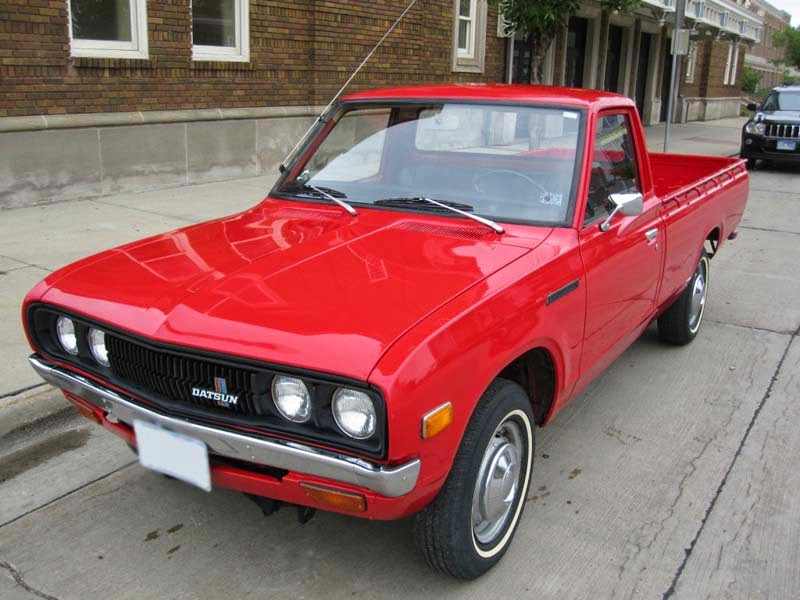 modifikasi mobil datsun 620 pick up