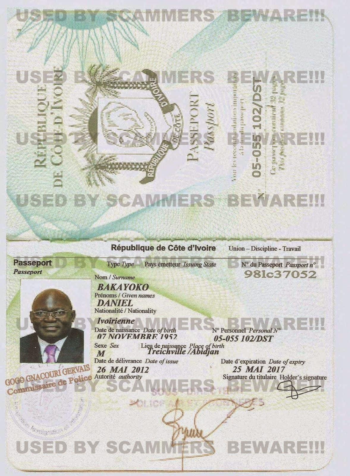 Fraud fyi fake passport fake versus bank certificate of deposit jamseg xflitez Image collections