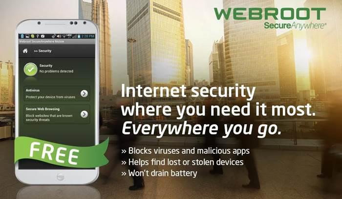 Webroot Antivirus untuk Android Gratis & Terbaik