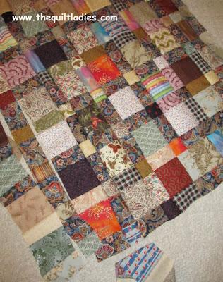 Simple Quilt using Squares