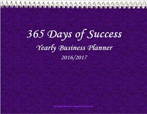 Purple 365 Days of Success Planner