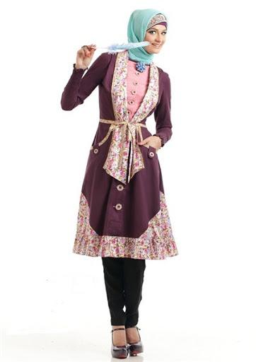 Model Baju Kerja Muslimah Terbaru 2015 dan 2016