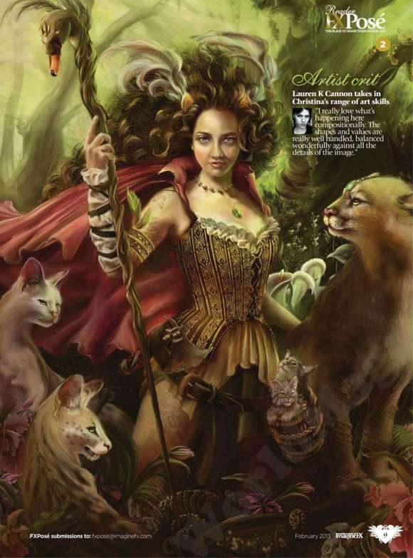 ImagineFX Magazine Issue 92 February 2013