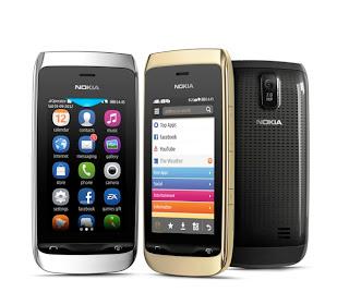 Harga Nokia Asha Terbaru Februari 2013