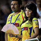 Dhoni Wife Sakshi Cute Photos from IPL 4