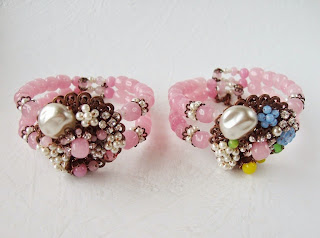 Miriam Haskell style jewelry Original by Robert Stanley Hagler Eugene costume jewelry