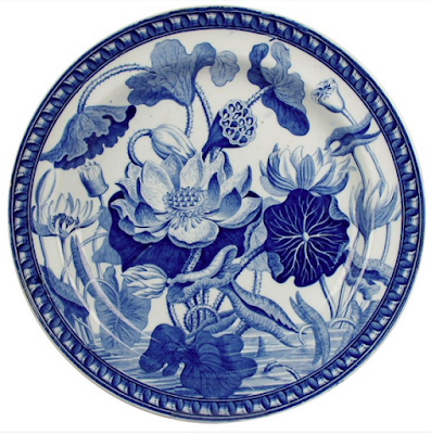 https://www.1stdibs.com/furniture/dining-entertaining/ceramics/wedgwood-pearlware-water-lily-plate/id-f_716869/