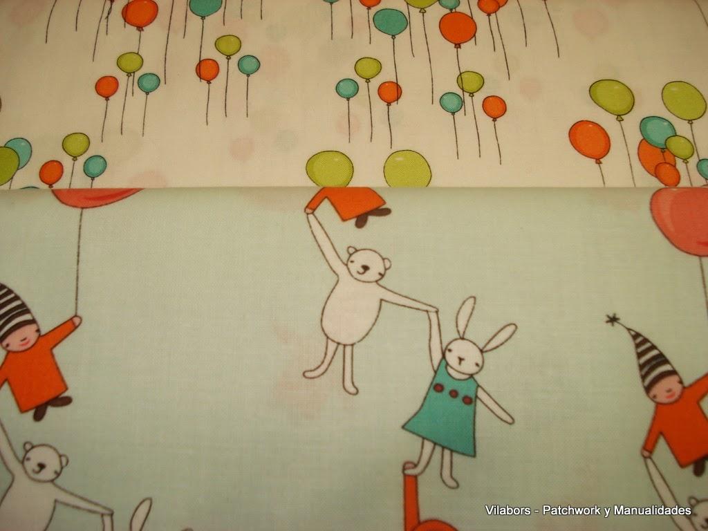 Primavera 2014, Telas Patchwork. Más infantiles. Vilabors, Vilafranca del Penedès