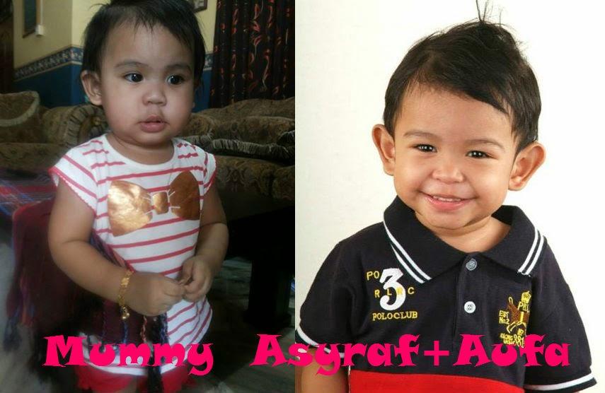 Mummy Asyraf+Aufa