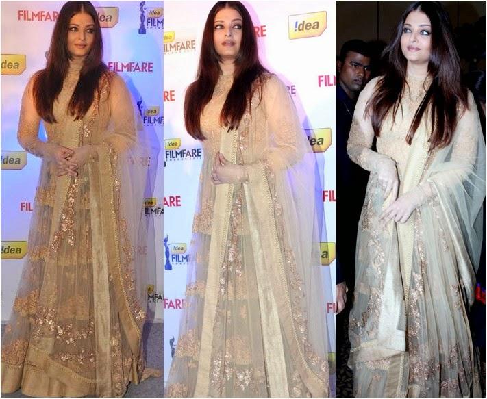Aishwarya Rai Bachchan in White suit