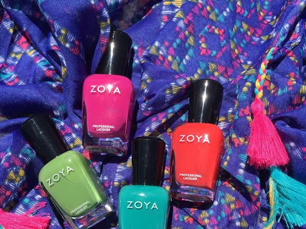 Zoya Summer 2015: Island Fun & Paradise Sun