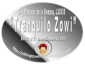 EL BLOG PLATEADO DE LA SEMANA LXXXIX: