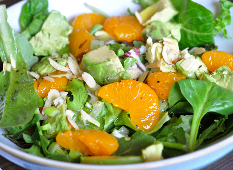 ... Cooking Adventures: My favorite salad ever: Avocado & Orange Salad