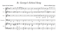 <br><br><br>St. George&#39;s School Song
