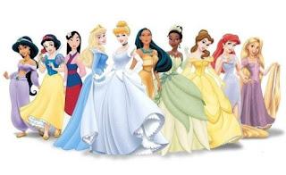 Las 10 Princesas Disney: Ariel, Aurora, Bella, Cenicienta, Jasmine, Mulan, Pocahontas, Rapunzel, Blancanieves y Tiana