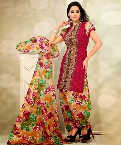 Cotton Salwar Kameez Neck and Gala Designs 2014-2015 For Punjabi and ...