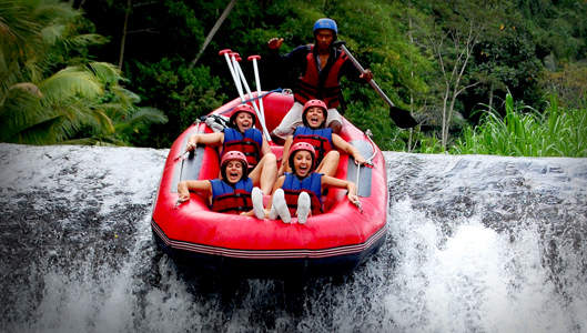 Telaga Dewata Rafting Sungai Telaga Waja - Karangasem, Bali, Liburan, Aktivitas, Atraksi