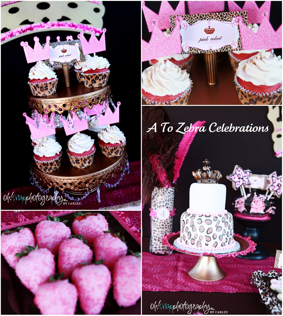 Leopard Print Party Decorations Leopard Princess Party A To Zebra Celebrations