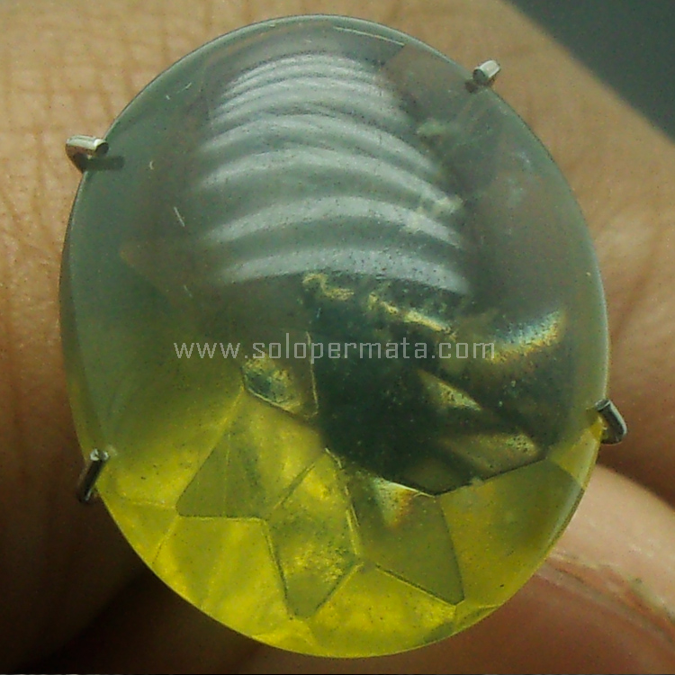 Batu Permata Green Fire Opal - SP786