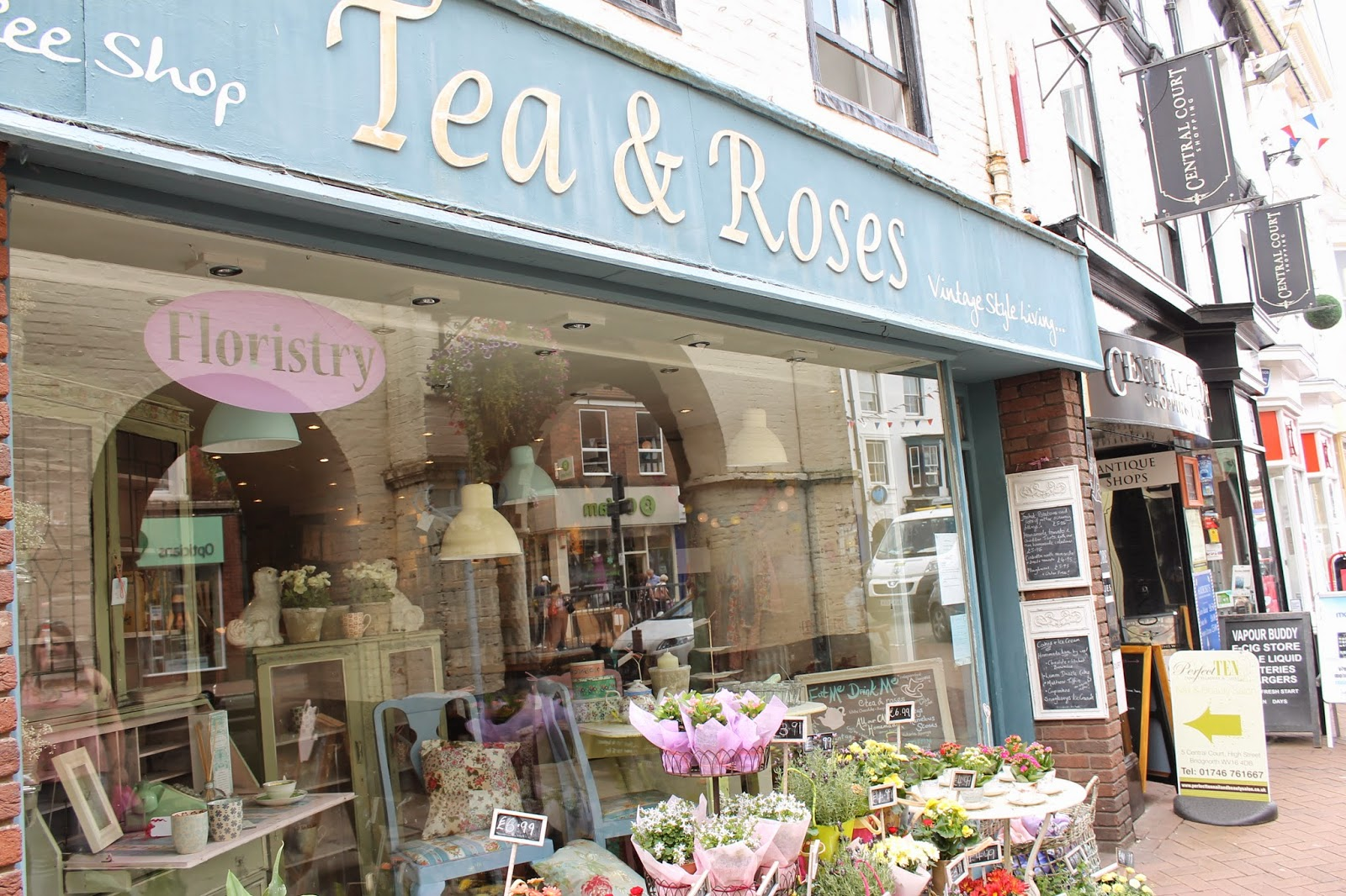 Bridgnorth Tea & Roses Shop