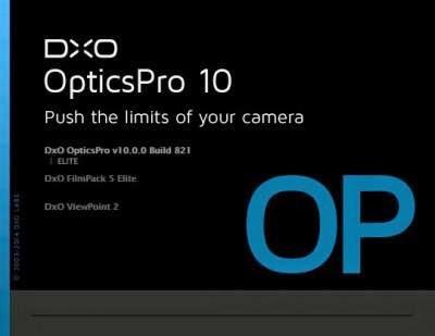DxO Optics Pro 10.0.0