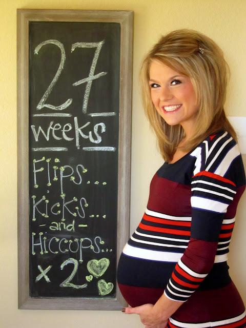 Friday Follow Along_27 >> PB+J Babes: 27 Weeks