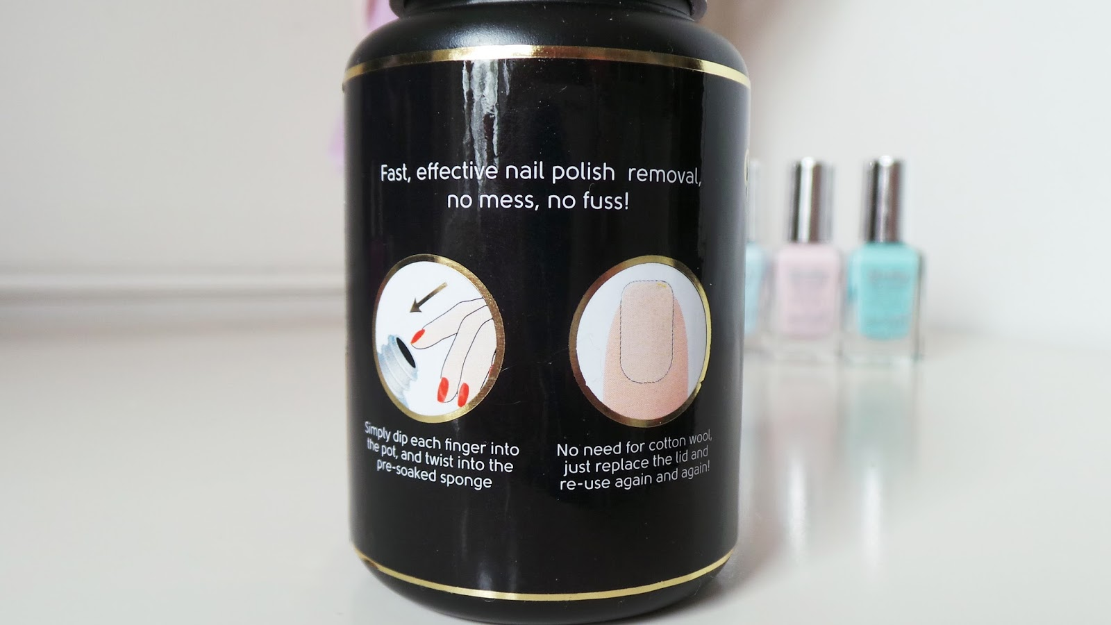 nail polish remover pot, primark nail polish remover pot, P.S primark nail polish remover pot, P.S Primark nails, Primark Nails review, primark nail polish review, nail blogger, uk nail blog, uk nail blogger, beauty blogger, uk beauty blogger, uk beauty blog, beauty blog, bourjois magic 1 second dupe, bourjois magic nail polish remover dupe