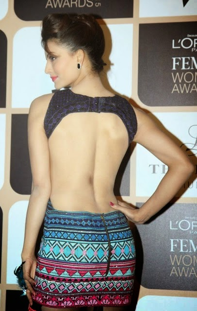 Urvashi Rautela Stills at LOreal Paris Femina Women Awards 2015 Photos