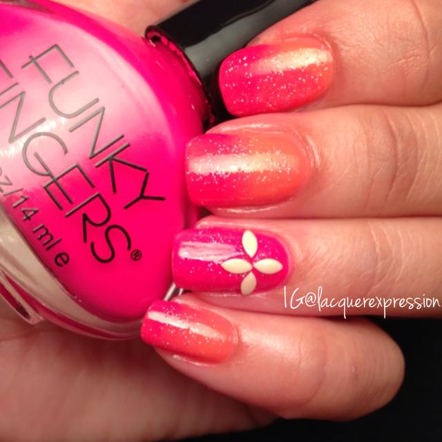 funky fingers pop artist nail polish