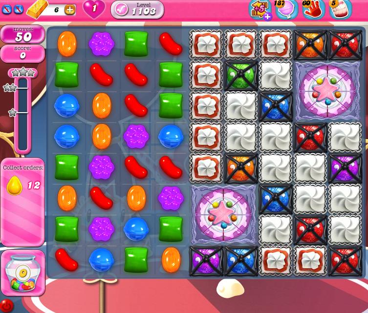 Candy Crush Saga 1103