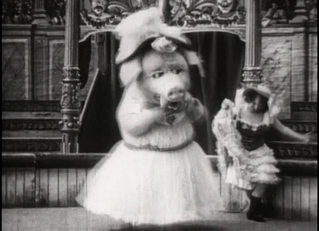Dancing Pig 1907 Sinemaya Dair: Le Coch...
