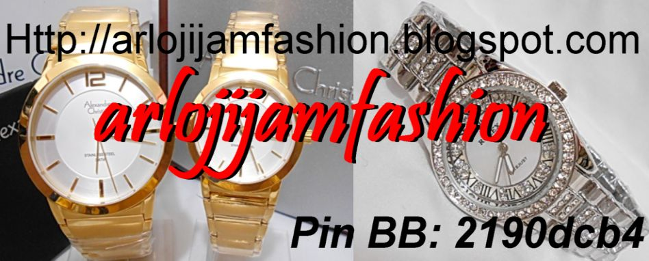 Arloji Jam Fashion